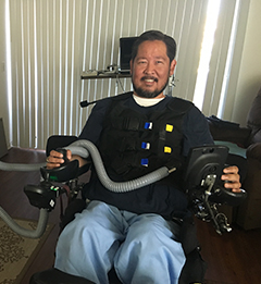 Chris G., CA, Quadriplegic patient